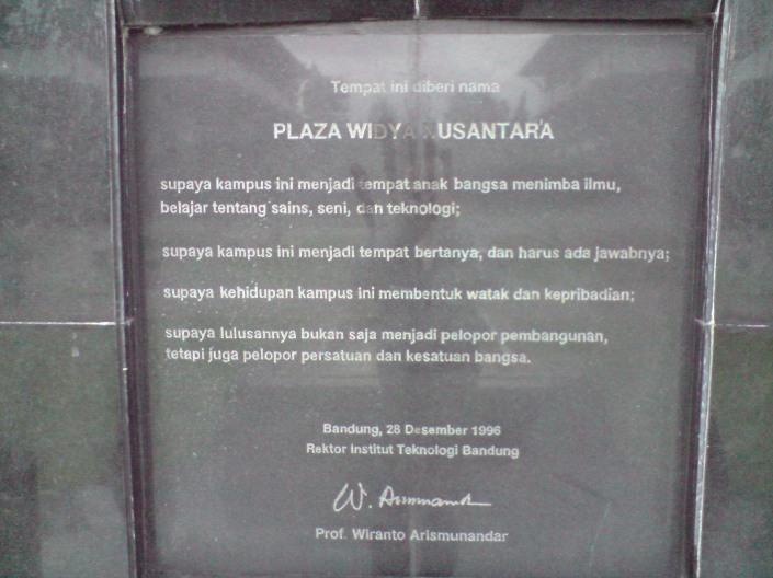 Tugu Plaza Widya
