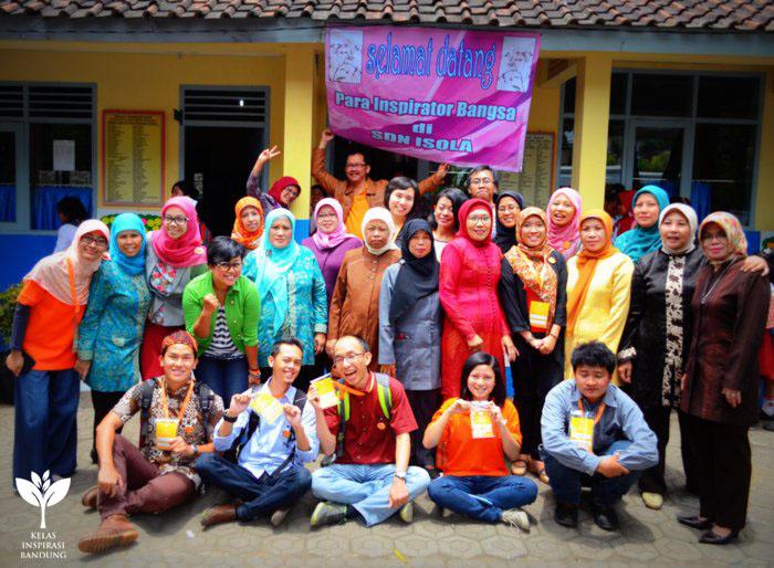 Kelas Inspirasi Bandung #2 SDN Isola